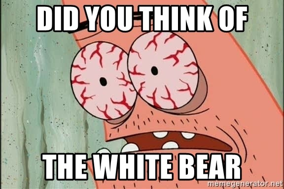 Stoned Patrick - Did you think of The white bear