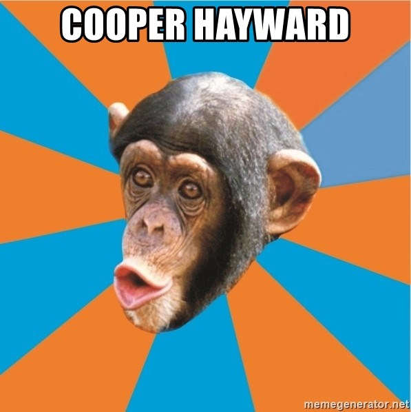 Stupid Monkey - COOPER HAYWARD