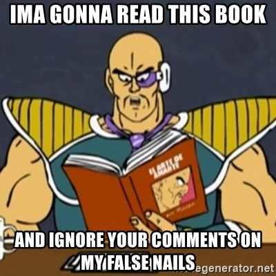 El Arte de Amarte por Nappa - ima gonna read this book and ignore your comments on my false nails