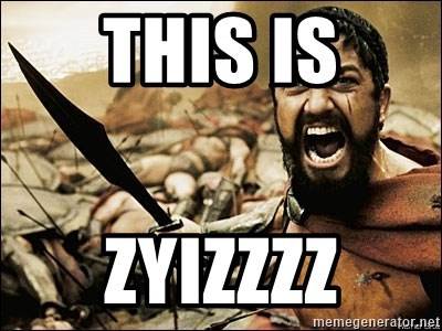 This Is Sparta Meme - this is ZYIZZZZ