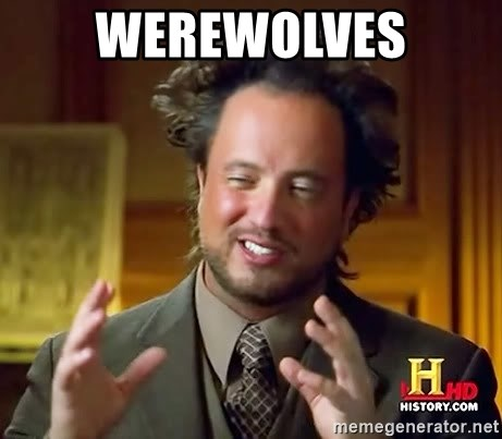 Ancient Aliens - werewolves