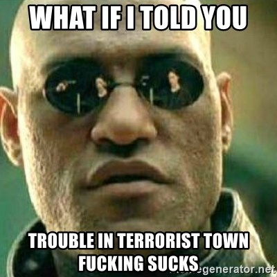 What If I Told You - WHAT IF I TOLD YOU TROUBLE IN TERRORIST TOWN FUCKING SUCKS