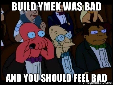 Zoidberg - BUILD ymek WAS BAD AND YOU SHOULD FEEL BAD