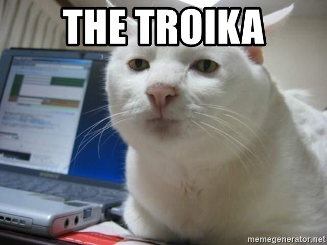Serious Cat - the troika