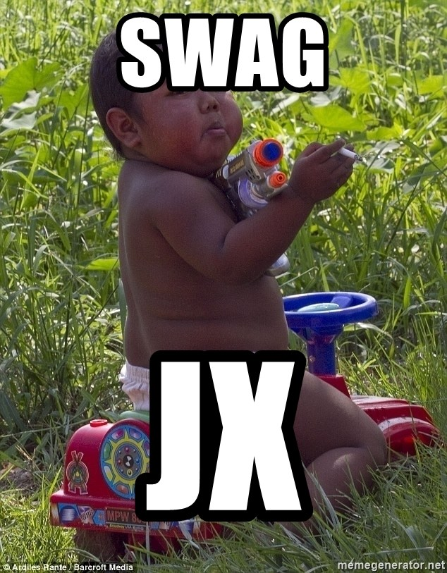 Swagger Baby - SWAG JX