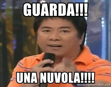 willie revillame you dont do that to me - GUARDA!!! UNA NUVOLA!!!!