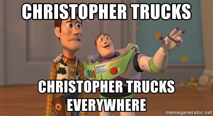Toy Story Everywhere - christopher trucks christopher trucks everywhere