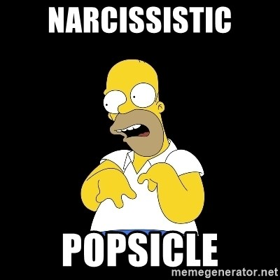 look-marge - narcissistic popsicle
