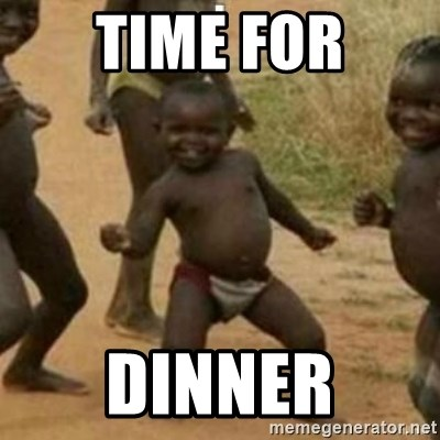 Black Kid - TIME FOR DINNER
