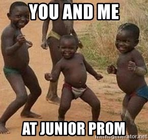 african children dancing - YOU AND ME AT JUNIOR PROM