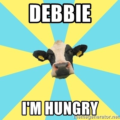 Comparatist Cow  - DEBBIE I'M HUNGRY