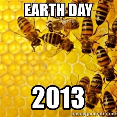 Honeybees - Earth Day 2013