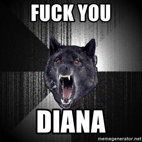 Insanity Wolf - FUCK YOU DIANA