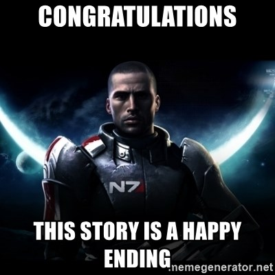 Mass Effect - CongratUlations This story is a happy ending