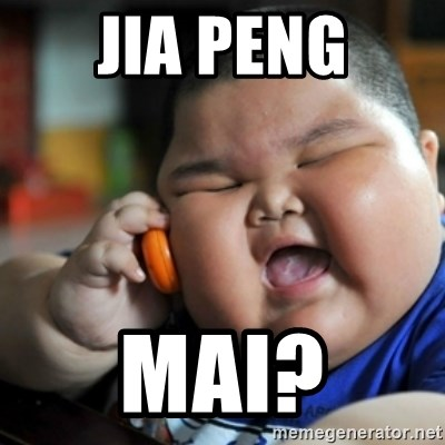 fat chinese kid - JIA PENG MAI?