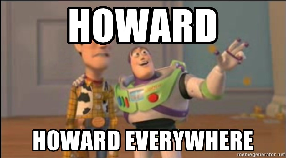 X, X Everywhere  - Howard howard everywhere