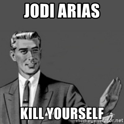 Correction Guy - jodi arias kill yourself