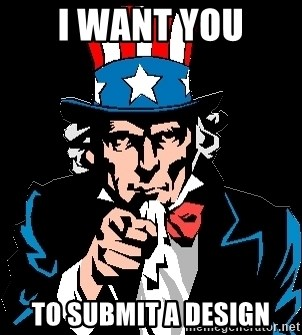 I Want You - i want you to submit a design