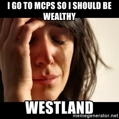 crying girl sad - I GO TO MCPS SO I SHOULD BE WEALTHY WESTLAND