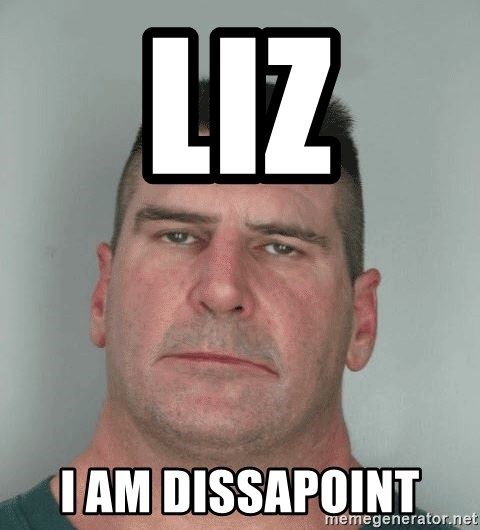 Son Am Disappoint - Liz I am dissapoint