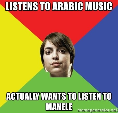Non Jealous Girl - listens to arabic music actually wants to listen to manele