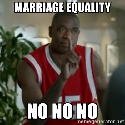 Dikembe Mutombo No No NO - Marriage equality No No No