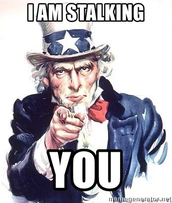 Uncle Sam - I am stalking you