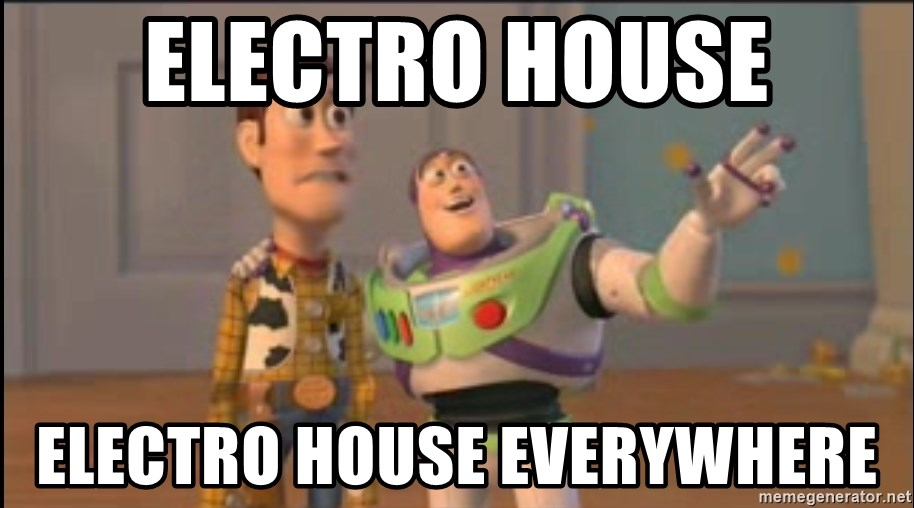 X, X Everywhere  - Electro House Electro house Everywhere