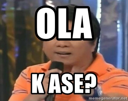 willie revillame you dont do that to me - OLA  K ASE?