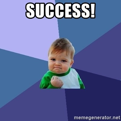 Success Kid - SuccesS!