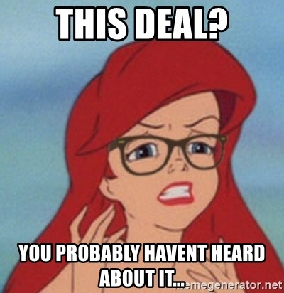 Hipster Mermaid - this deal? you probably havent heard about it...