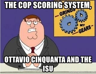 Grinds My Gears Peter Griffin - THE CoP SCORING SYSTEM, OTTAVIO CINQUANTA AND THE ISU
