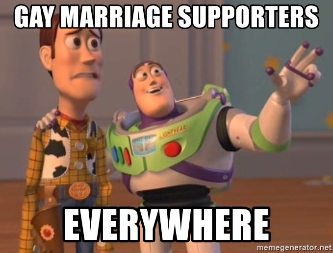 ToyStorys - GAY MARRIAGE SUPPORTERS  EVERYWHERE
