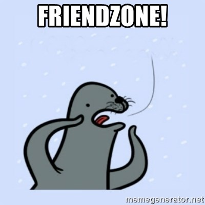 gay seal - Friendzone!