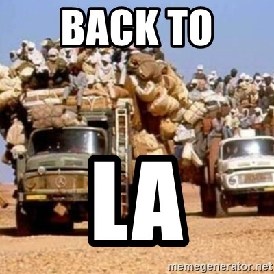 BandWagon - Back to  La