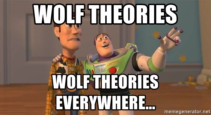 ORIGINAL TOY STORY - Wolf theories wolf theories everywhere...