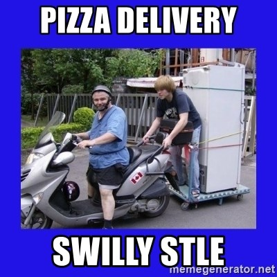Motorfezzie - PIZZA DELIVERY SWILLY STLE