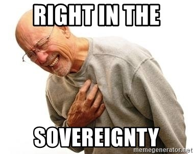 Old Man Heart Attack - Right in the sovereignty