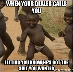 Third World Success - When your dealer calls You Letting You know he's got The shIt you wanted