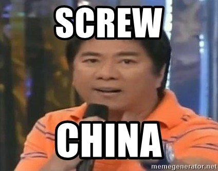 willie revillame you dont do that to me - SCREW CHINA