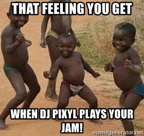 african children dancing - that feeling you get when dj pixyl plays your jam!