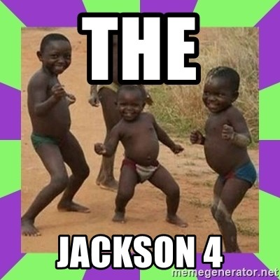 african kids dancing - THE JACKSON 4