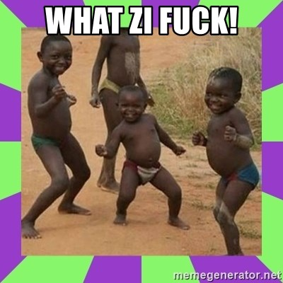 african kids dancing - WHAT ZI FUCK!