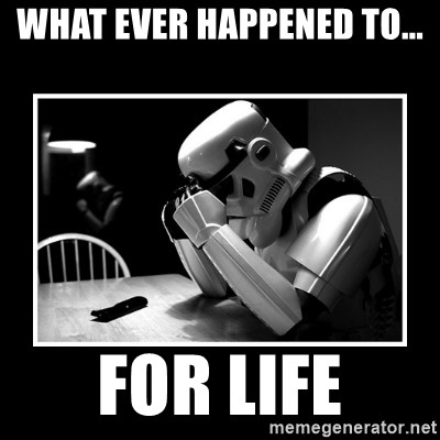 Sad Trooper - what ever HAPPENED to... for life