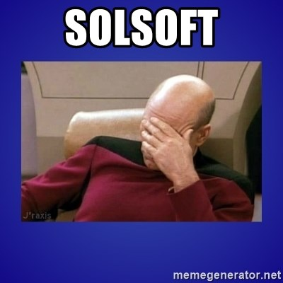 Picard facepalm  - solsoft