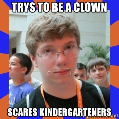 LOL HALALABOOS - trys to be a clown  scares kindergarteners