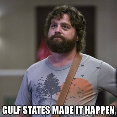 Alan Hangover -  Gulf States Made it happen