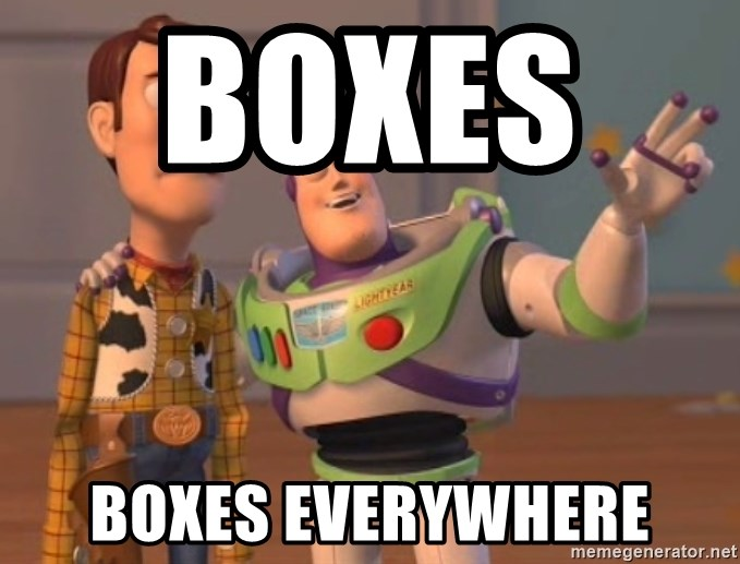 ToyStorys - Boxes     Boxes everywhere