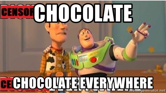 Toy Story Everywhere - CHOCOLATE CHOCOLATE EVERYWHERE