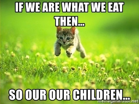 God Kills A Kitten - if we are what we eat then... so our our children...